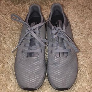 Gray Reebok women's shoes